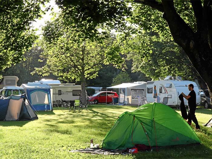 camping in de buurt van basel